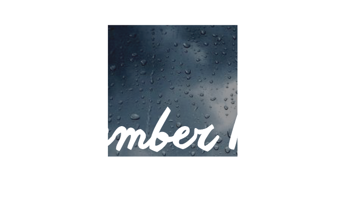 November Rain Production